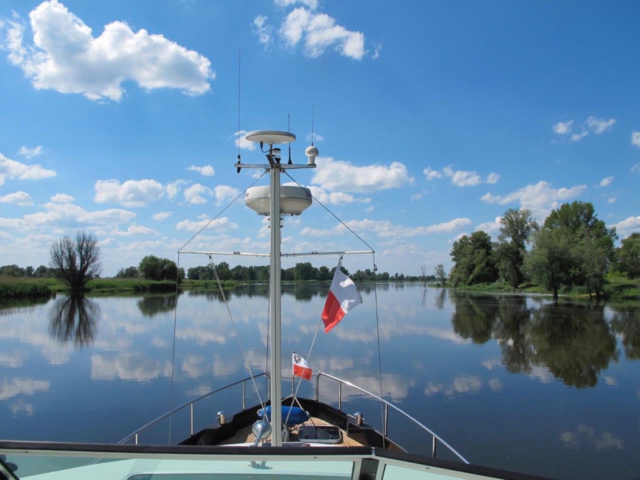 Met een Linssen-jacht over de Oostzee
